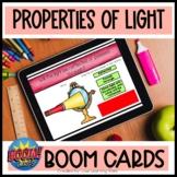 Properties of Light BOOM Cards | 4th Grade Science | Digit