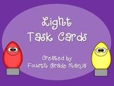 Properties of Light Task Cards