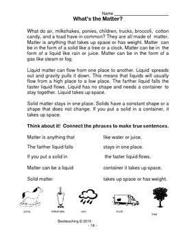 Properties of Liquids & Solids