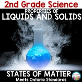 Properties of Liquids and Solids 2nd Grade Science