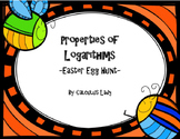 Properties of Logarithms - Egg Hunt