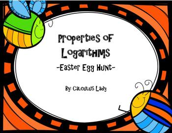 Properties of Logarithms - Egg Hunt