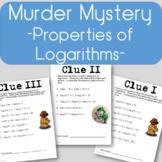 Properties of Logarithms - Murder Mystery!