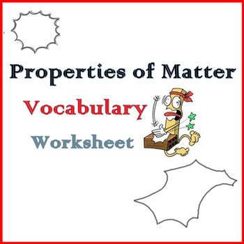 Properties of Materials - Vocabulary