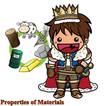Properties of Matter : Vocabulary Worksheet