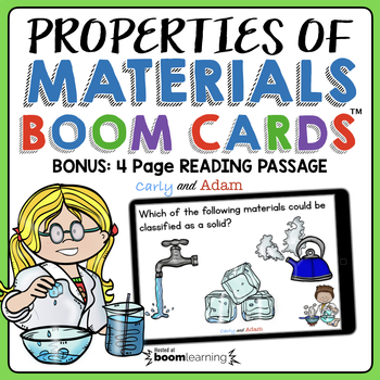 Properties of Materials BOOM Cards
