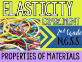 NGSS Properties of Materials - Elasticity Inquiry