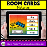 Properties of Materials Science Boom Cards (Digital and Di