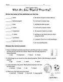 Properties of Matter 5 Quizzes