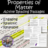 Properties of Matter- Active Reading Passages