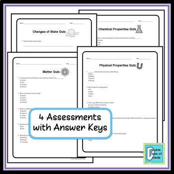 Properties of Matter Assessment