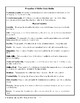 Properties of Matter Assessment and Study Guide