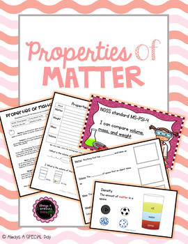 Properties of Matter Bundle