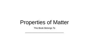 Properties of Matter Class Book