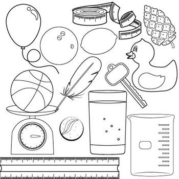 Properties of Matter Clip Art