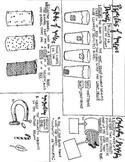 Properties of Matter Coloring Sheet: Magnetism, States of Matter, density, etc