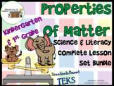 Properties of Matter:Complete Lesson Set Bundle Kindergart