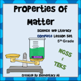 Properties of Matter: Complete Lesson Set Bundle (TEKS & NGSS) 5th Grade
