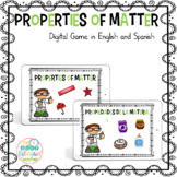 Properties of Matter Digital Game in English and Spanish