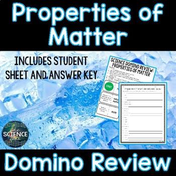 Properties of Matter Domino Review