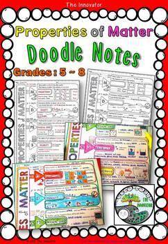 "Properties of Matter - ""Doodle Notes"""