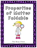 Properties of Matter Foldable