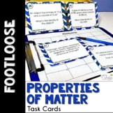 Properties of Matter Task Cards - Footloose Science Game