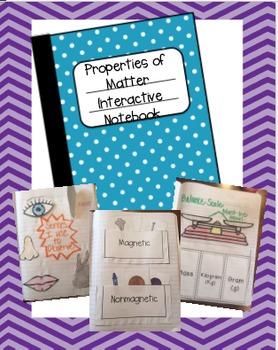 Properties of Matter Interactive Notebook