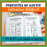 Properties of Matter Interactive Notebook
