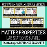Matter Properties Lab Stations Bundle