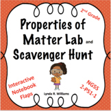 Properties of Matter Lab and Scavenger Hunt NGSS