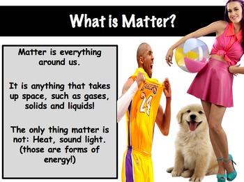Properties of Matter Lesson