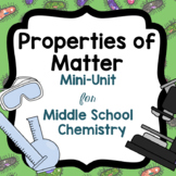 Properties of Matter Mini-Unit