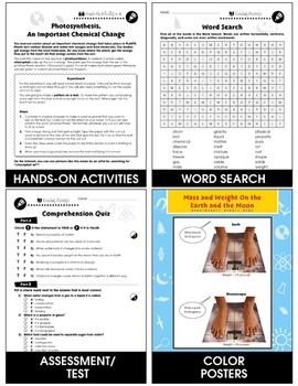 Properties of Matter: Physical Changes of Matter Gr. 5-8
