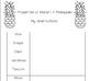 Properties of Matter : Pineapple Investigation