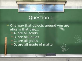 Properties of Matter Review