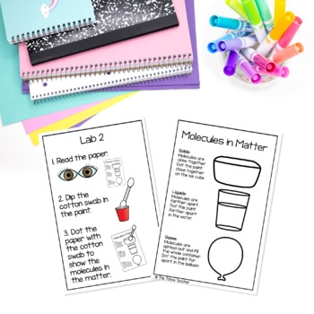 States of Matter Science Unit | STEAM Centers for Primary Grades