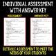 Properties of Matter - Science Assessment