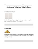 Properties of Matter-  Powerpoint