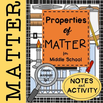 Properties of Matter Sketch Notes and Activity