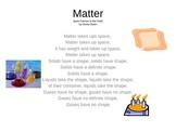Properties of Matter Song
