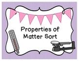 Properties of Matter Sort