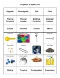 Properties of Matter Sort TEKS 3.5A,B,C,D and 4.5A,B and 5.5A,B,C