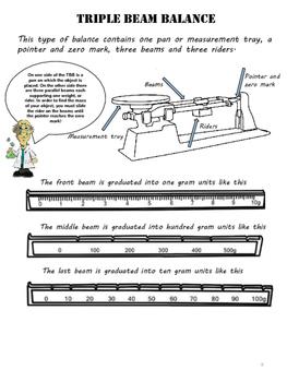 Properties of Matter Study Guide- MASS