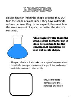 Properties of Matter Study Guide- States of Matter