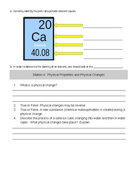 Properties of Matter || Study Guide essential standard 6.P.2