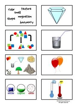 Properties of Matter - TEKS 4.5A (Physical Properties of Matter)