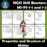 Properties of Matter Task Cards NGSS Skill Boosters: MS-PS