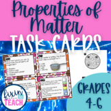 Properties of Matter Task Cards {QR Code Answers}