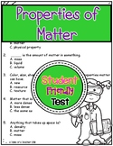 Properties of Matter Test